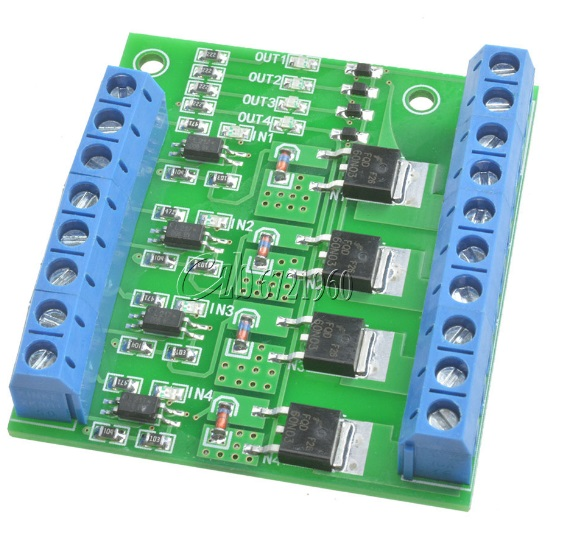 MOS FET 4Channels Pulse Trigger Switch