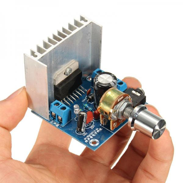 AC/DC 12V TDA7297 2x15W Digital Audio Amplifier DIY