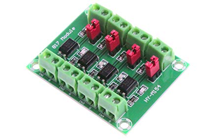 PC817 4 Channel 3.6-30V Voltage Converter Adapter Module